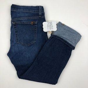 Joe's Jeans Cuffed Crop Jean